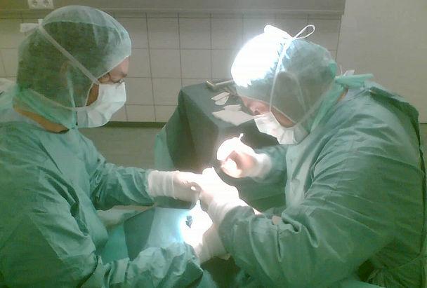 Hand- und Fußchirurgische Operationen